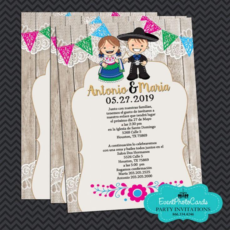 Mariachi Wedding Invitations