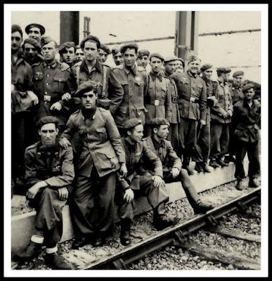 tren de voluntarios division azul alemania guerra rusia