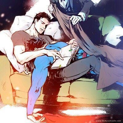After a tiring day fiting villains, they fell asleep in the warmth of they're couch (bet they fucked there a couple of times now). Aww, Alfred being the sweet yaoi lover he is, placing a blanket on the lovely couple.. - visit to grab an unforgettable cool 3D Super Hero T-Shirt!