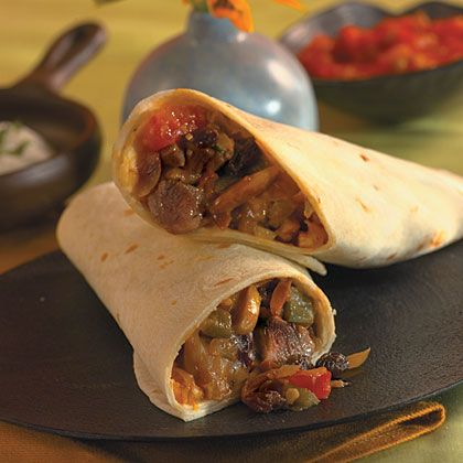 Picadillo Pork Burritos | Learn how to make Picadillo Pork Burritos. MyRecipes has 70,000+ tested recipes and videos to help you be a better cook