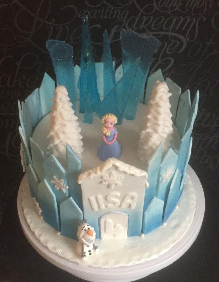 Frozen, frozencake, frozencastle