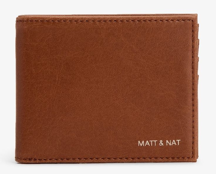 One of the first vegan and ethical fashion brands, Matt and Nat has come a long way from its humble beginnings and this sophisticated wallet is a proof. Crafted from eco-friendly vegan leather, this brown wallet is a stylish alternative to traditional black and is fitted with an array of slots for your everyday essentials.   Shop more on shop.addresschic.com