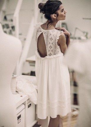 Laurent Nivalle - Laure de Sagazan - Robes de mariee courtes - La mariee aux pieds nus