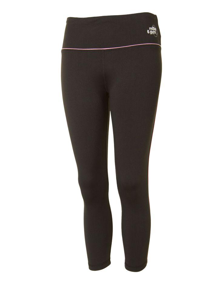 millie & gym Womens Slim Colour Pop Capri