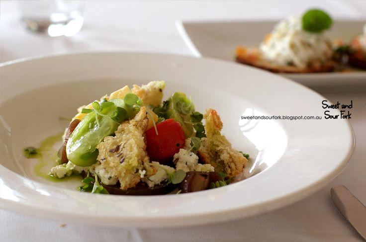 Panzanella Salad at our Isabella's Restaurant, Rochford Wines