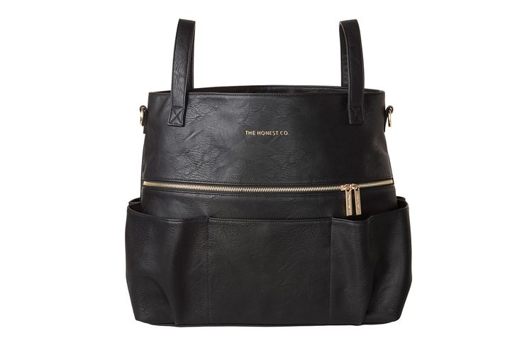 TheHonest Company's stylish Carryall Satchel made from sturdy vegan leather transitions seamlessly from baby to beyond!