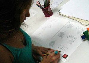 Lorena Vazquez. Clases. Preparación. Arte 10. Prueba específica. Grado Superior. Diseño. Arte Casellas 1