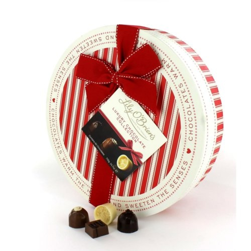 Lily O'Brien's - Sweeten The Senses Christmas Hat Box, filled with 60 of Lily O'Brien's finest Chocolates