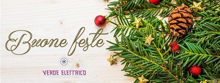 Buon #Natale e buone #feste da #VerdeElettrico  #green #Torino #christmas2016