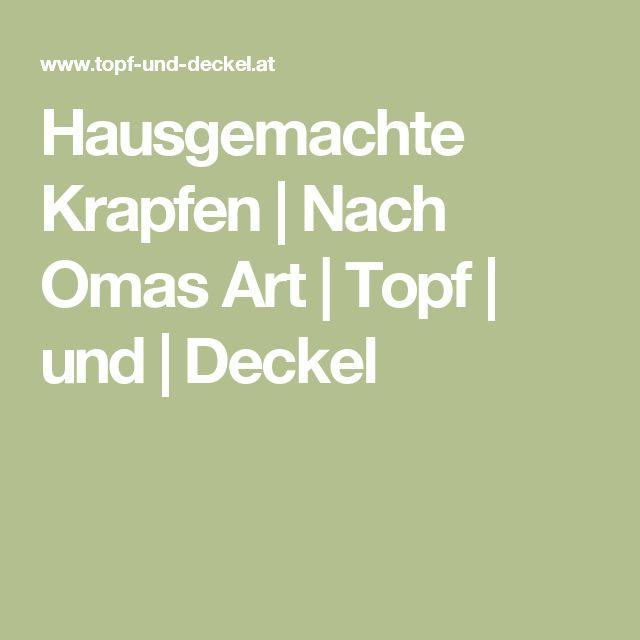 Hausgemachte Krapfen | Nach Omas Art | Topf | und | Deckel