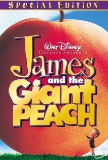 IMDB for James and the Giant Peach. Burton Produced. Selick directed. Same director as Nightmare Before Christmas, but not as good. A bit syrupy.