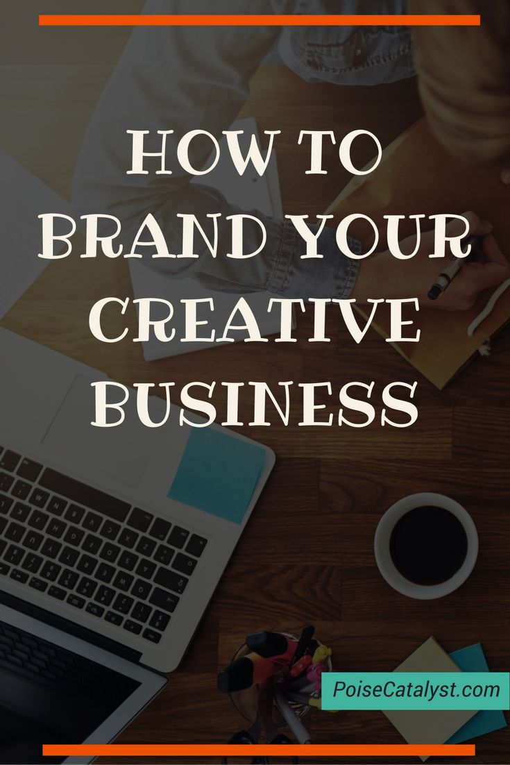 Here's a step-by-step tutorial from Holly on how to brand your creative business. Click through for the video!