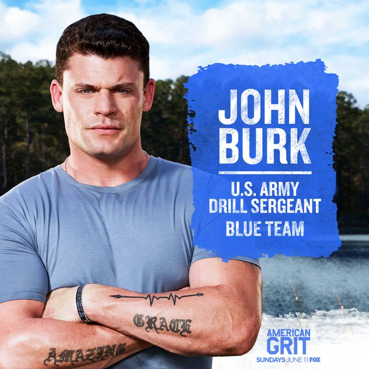 Join John Burk as he leads the blue team to find their grit on the season premiere of #@AmericanGritFOX, Sunday on FOX!