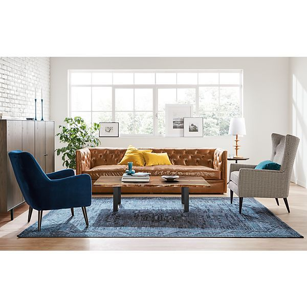 Room U0026 Board   Amira Custom Rug And Hudson Custom Cabinet