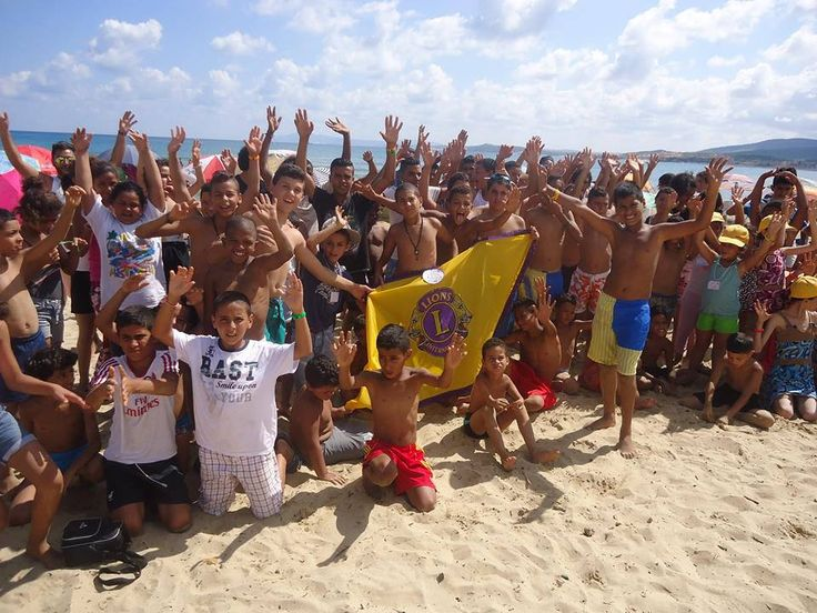 Salammbo #Lions Club (Tunisia) provided a summer camp for children from a child protection center