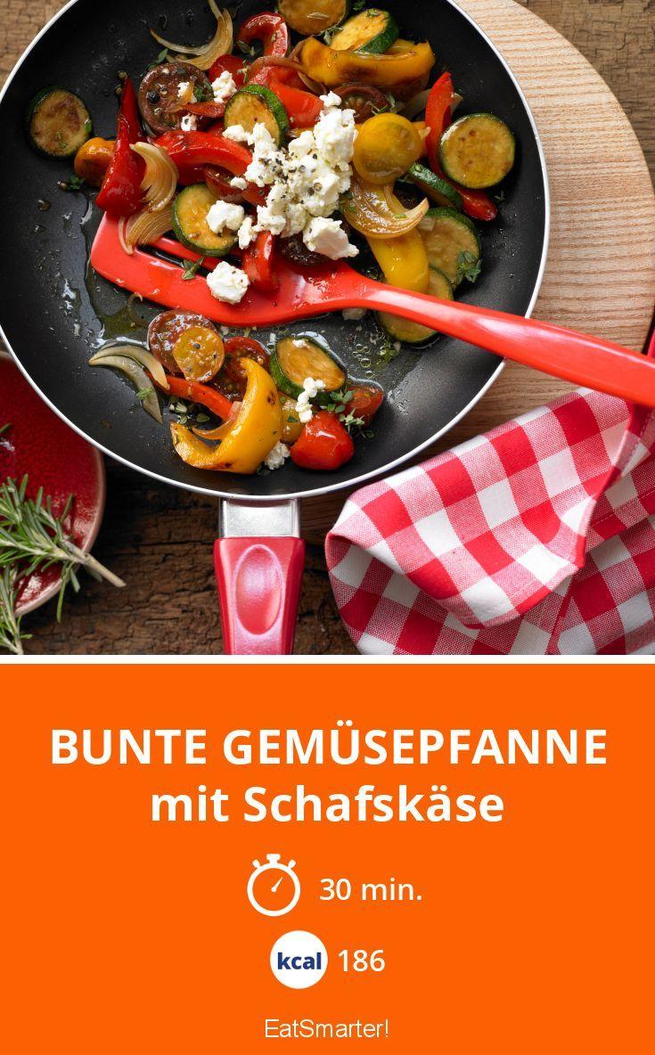 Der Schafskäse macht das Gemüse besonders köstlich!
