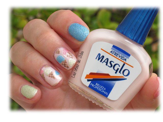 Las uñas de Julia: Nails Art Helados