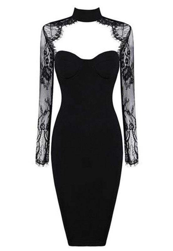 'Blake' Lace Bodycon Dress