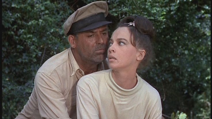 Cary Grant and Leslie Caron in Father Goose (1964). Fun Fact: In his later years, Cary Grant claimed his role in Father Goose most closely mirrored his real personality.