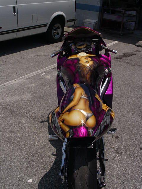 airbrush art gallery   Airbrush Art for Baggers, Harley Davidson - Murals, graphics, tribal
