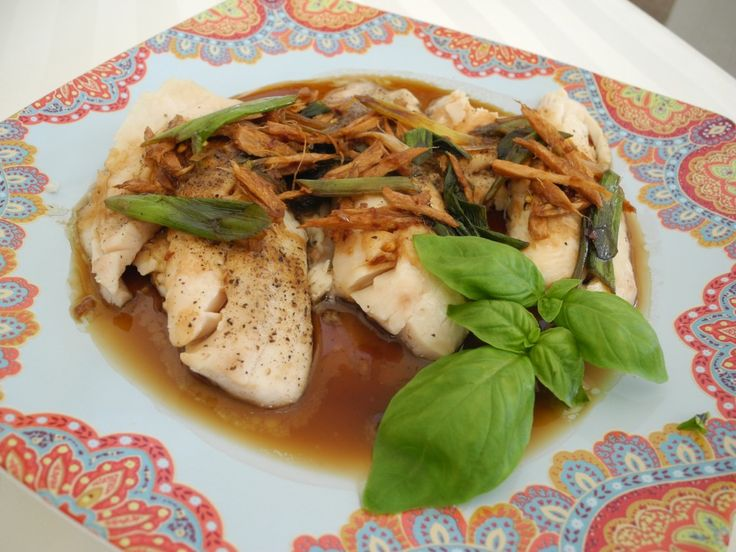 Steamed Tilapia with Ginger Soy Sauce | Ying & Yang Living - #tilapia #recipe #food #asian