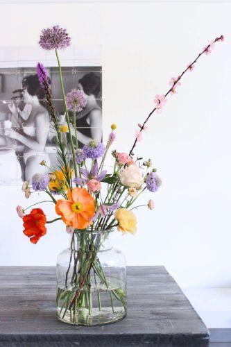 Judith Slagter - colors // judithslagter.nl // #boeket #summer #papaver #blossom