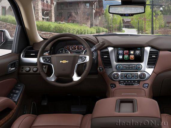 Интерьер внедороржника Шевроле Сабурбан 2015 / Chevrolet Suburban 2015