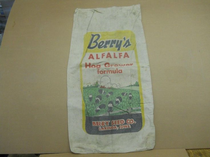 Berry's Hog Grower Berry Seed Co. Clarinda, Iowa 16x31