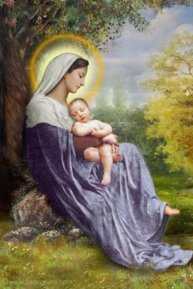 Blessed Mother Mary And Jesus 862 best Madonna and C...