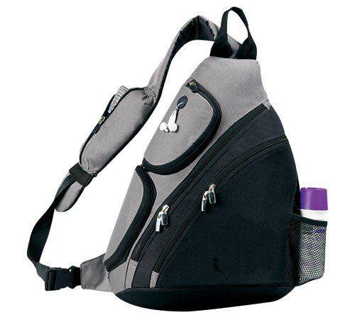 light weight sling backpack sports bag black excellent. Black Bedroom Furniture Sets. Home Design Ideas