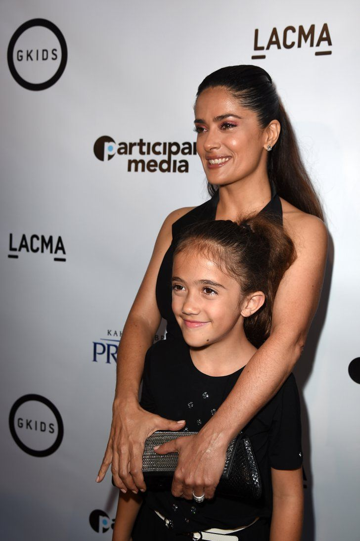 Pin for Later: You Won't Believe How Much Salma Hayek's Daughter Has Grown