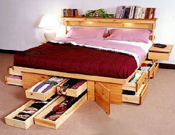 Maximize Your Bedroom Space To Save space saving | Simple Home Design