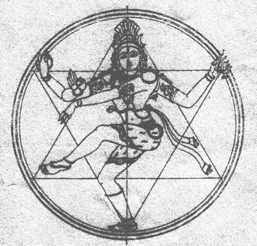 Shiva, Bienveillant Seigneur, Puissant Dieu Destructeur dont la danse Cosmique signe la fin des Mondes. Il n'est aucun progrès spirituel qui ne demande le démantèlement de nos convictions ou attitudes. Détruire pour reconstruire. Shiva est Bon et Bienveillant, même si les transformations auxquelles il nous invite sont douloureuses. Les épreuves de la vie, fortuites ou conséquences de karma antérieurement acquis, peuvent, et doivent être comprises et vécues comme des opportunités d'évolution.