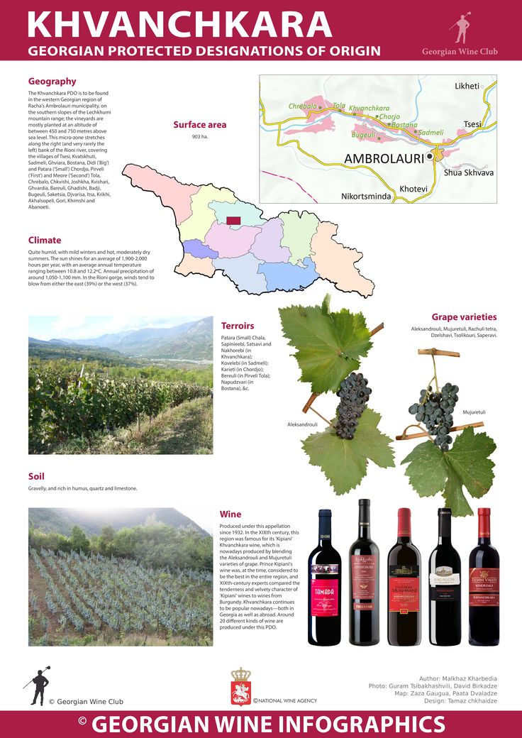 Khvanchkara - Georgian Wine Infographics (15) | Marani