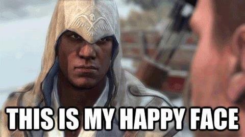 Connor's Happy Face
