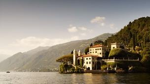 Lake Como's Villa del Balbianello - the film backdrop in Casino Royale and Star Wars #Italy