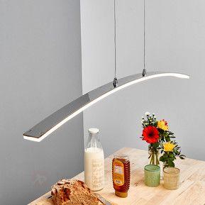 Lorian - bogenförmige LED-Pendelleuchte
