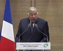 Gérard Larcher demande à l'État de respecter les élus