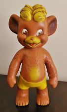 ADORABLE VINTAGE CHRISTMAS PUNKINHEAD TEDDY BEAR SQUEEZE TOY $20