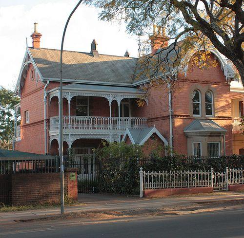 Beautiful Victorian red brick buildings - 149 Pietermaritz Street, Pietermaritzburg http://www.n3gateway.com/the-n3-gateway-route/pietermaritzburg-tourism.htm