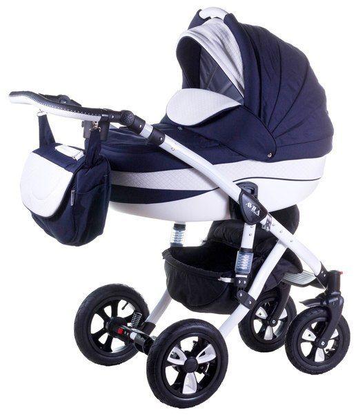 Детская коляска Adamex 2в1 Avila Эко кожа 375S  Цена: 320 USD  Артикул: mp620130  Детская коляска Adamex 2в1 Avila – новинка 2015 года. Легкая алюминиевая рама с двойным амортизатором, накачиваемые колеса, два из которых поворотные, обеспечивают комфорт передвижения по любому покрытию. Благодаря применению адаптера типа click-clack можно легко и быстро менять модули. Модель отличается современным и элегантным дизайном. Люльку и прогулочный блок можно установить лицом или спиной по…