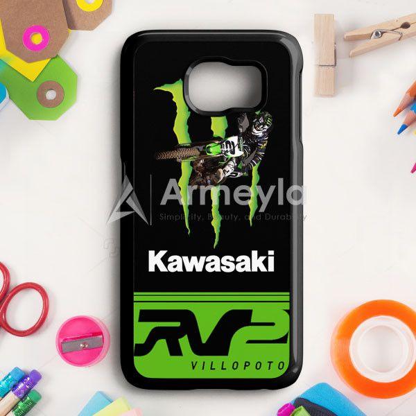 Ryan Villopoto Monster Thor Motocross Samsung Galaxy S6 Case | armeyla.com
