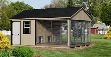 Large Dog Kennels And Dog Runs Climate Controlled Available