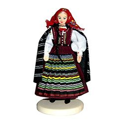 Radomianka Woman Traditional Polish Doll