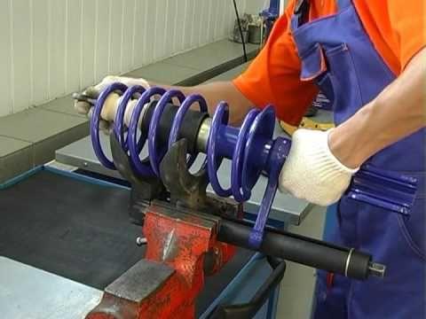 Замена передних и задних стоек амортизаторов на ВАЗ 2110, 2111, 2112 | Авто мастер