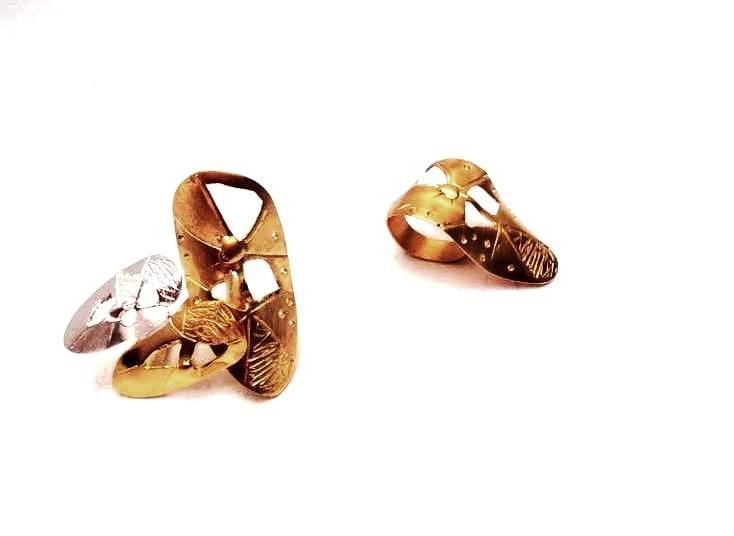 Rings, gold/silver plated www.yiotavogli.com