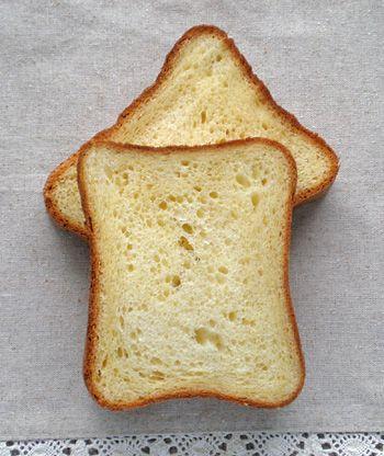 蜂蜜とクリームチーズのブリオッシュ食パン ~ Sweet Country ~