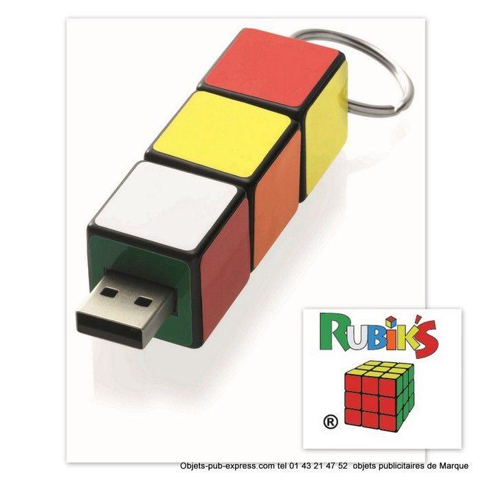 RUBIK'S CLE USB PUBLICITAIRE Clés Usb publicitaires Objets Pub Express®