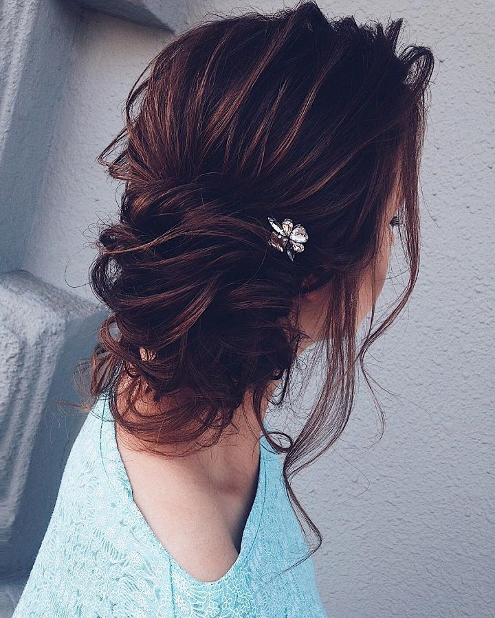 Beautiful Bridal Messy Updo To Inspire Your Big Day Hairstyles