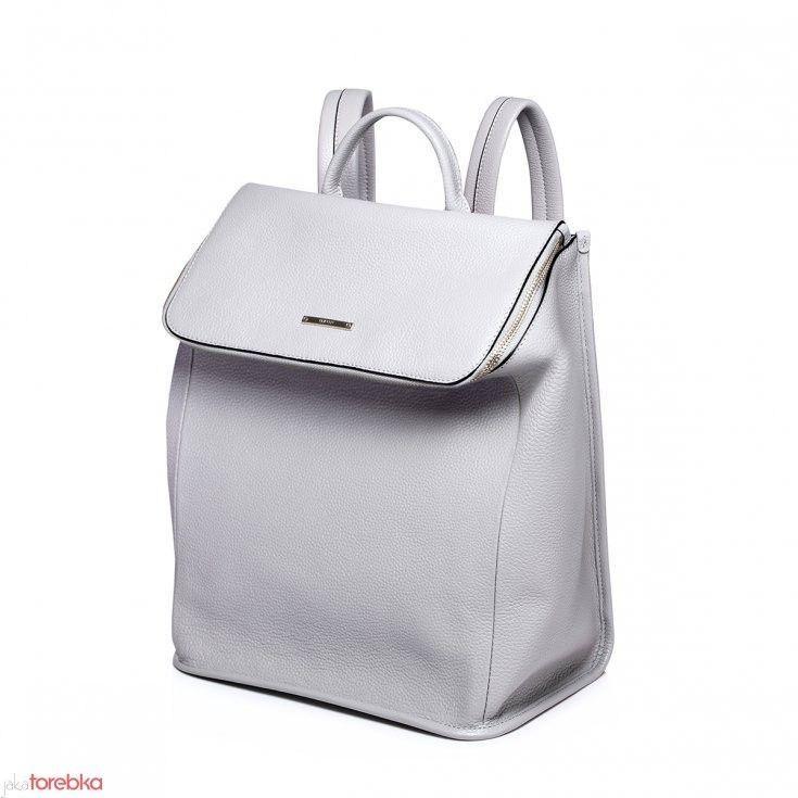 Pojemny damski plecak Opal Gray